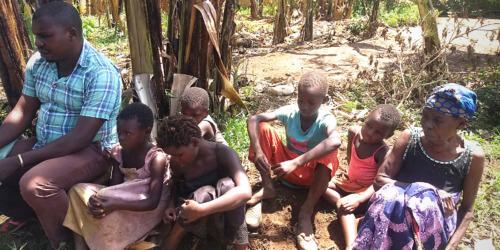 Caritas International Belgique L'Ouganda connaît un afflux de personnes réfugiées venues de la RD Congo. Et ce n'est pas fini
