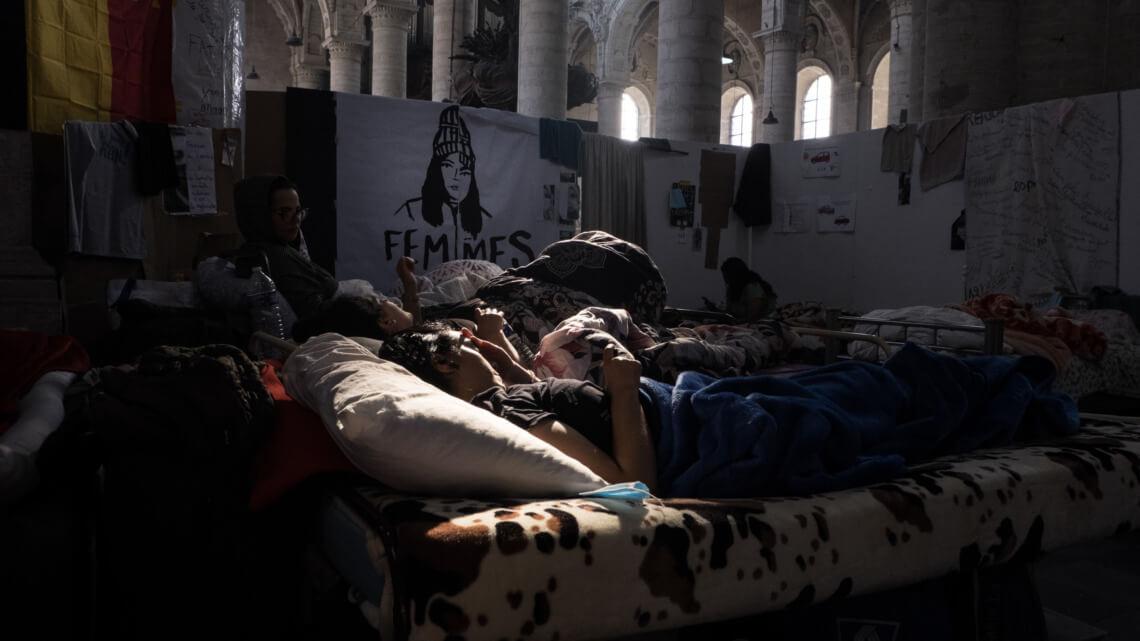Caritas International Belgique Grève de la faim de personnes sans papiers: comment en est-on arrivé là?