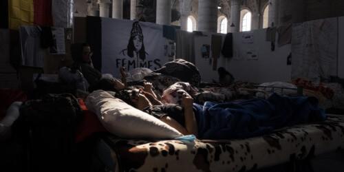 Caritas International België Mensen zonder papieren in hongerstaking: hoe is het zover kunnen komen?