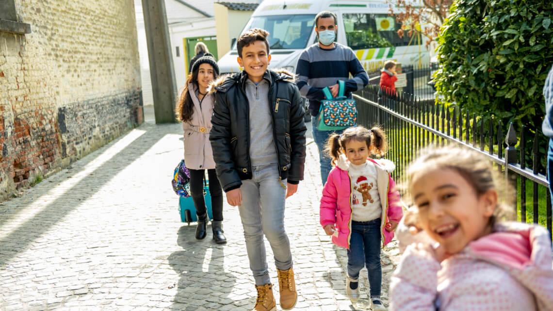 Caritas International België België moet drie keer méér vluchtelingen hervestigen