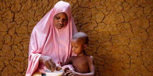 Caritas International België En alwéér neemt de honger in de wereld toe