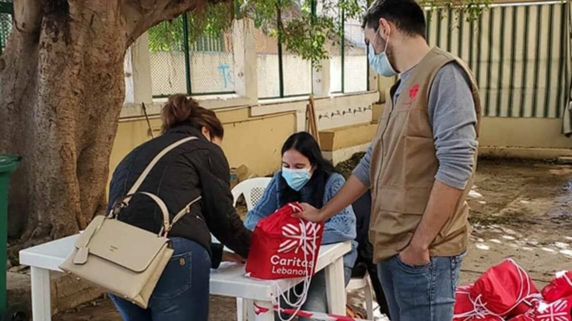 Caritas International Belgique Réponse agile au Covid-19 et ses impacts secondaires au Liban