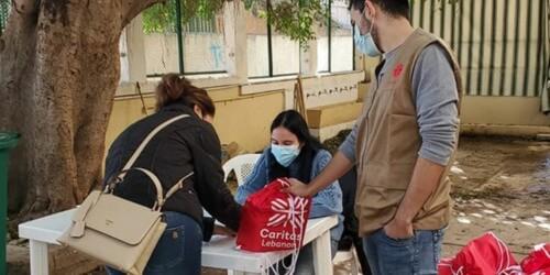 Caritas International België Snelle reactie op covid-19 en de secundaire gevolgen ervan in Libanon