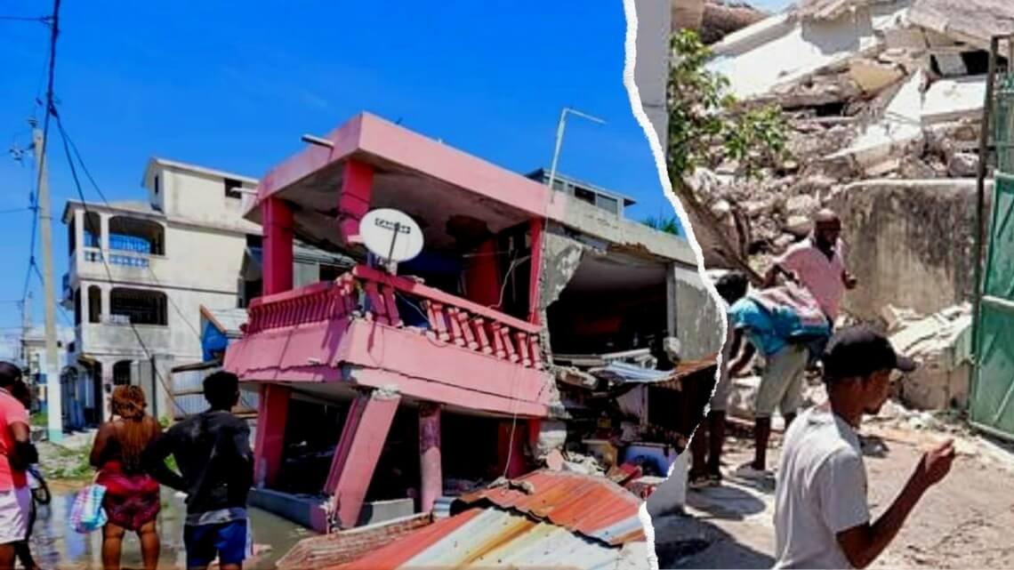 Caritas International Belgique Urgence en Haïti suite au tremblement de terre: les équipes locales de Caritas se mobilisent