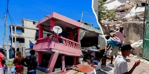 Caritas International België Aardbeving Haïti: lokale Caritasteams snellen te hulp