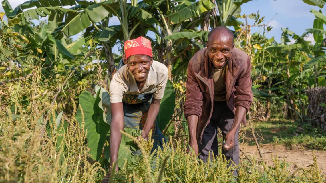 Caritas International België De boerenbevolking in Burundi en de klimaatopwarming