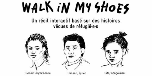 Caritas International Belgique Walk in my shoes: mettez-vous dans la peau d'un-e réfugié-e